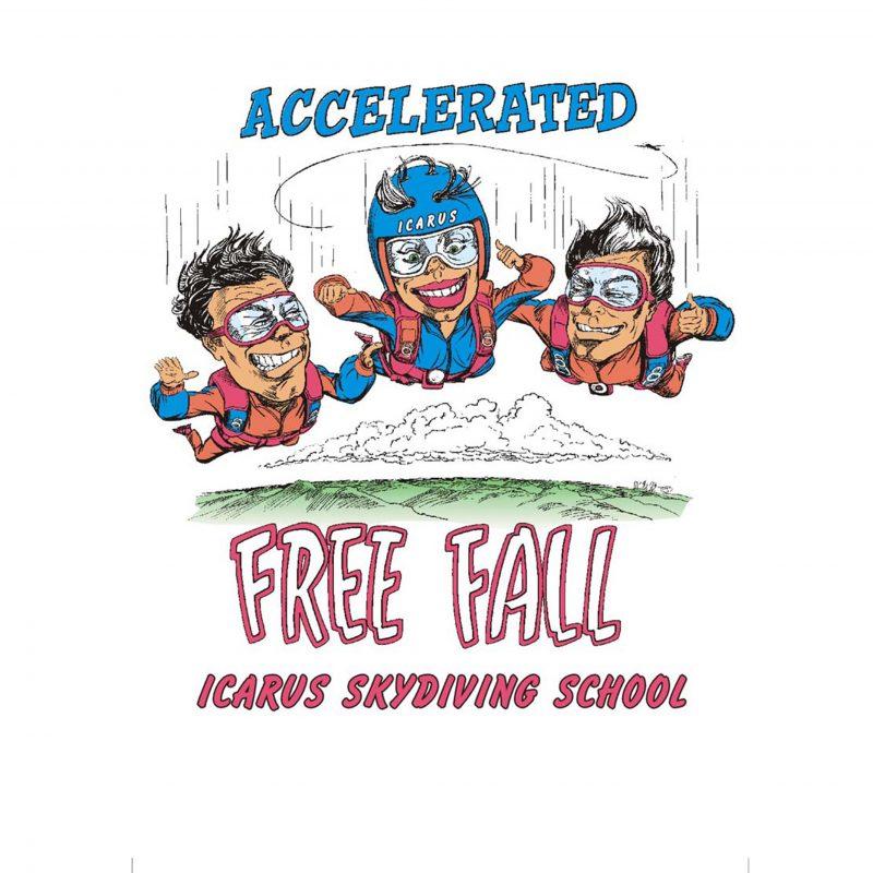 Incarus-Air-Wear-Freefalling-Tshirt